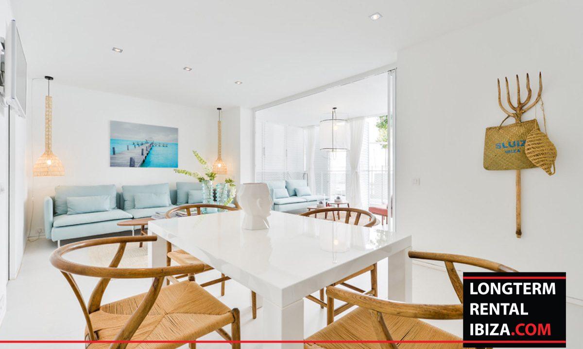 Long term rental Ibiza - Patio Blanco Jardín 9