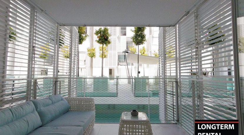Long term rental Ibiza - Apartment Patio Blanco Lio