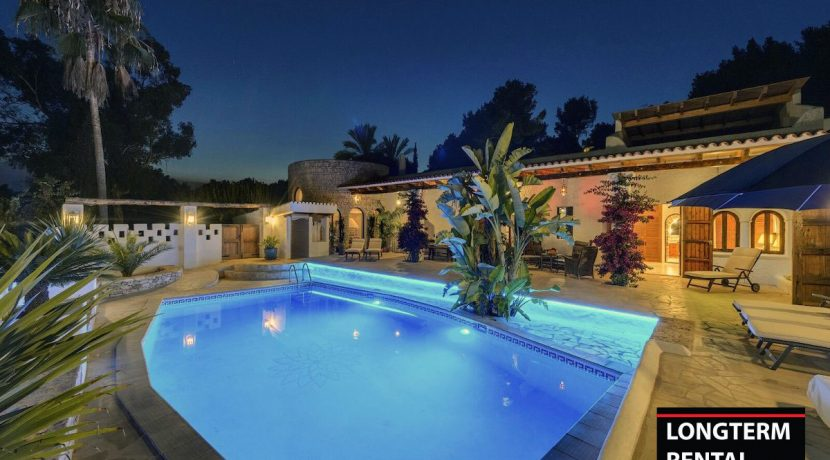 Long term rental Ibiza - Villa Alhambra