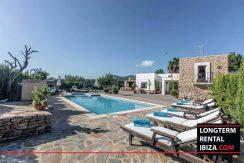 long term rental Ibiza - Villa Carlitos