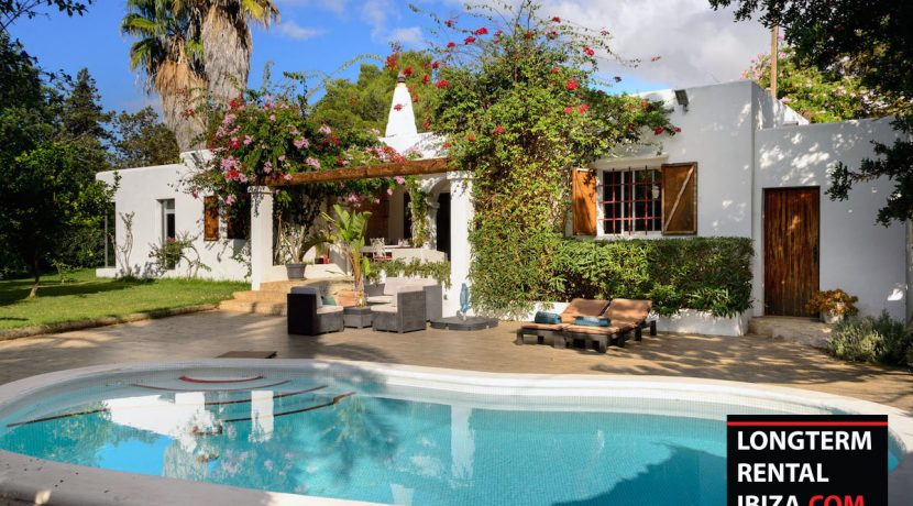 Long term rental Ibiza - Villa Entrada 1