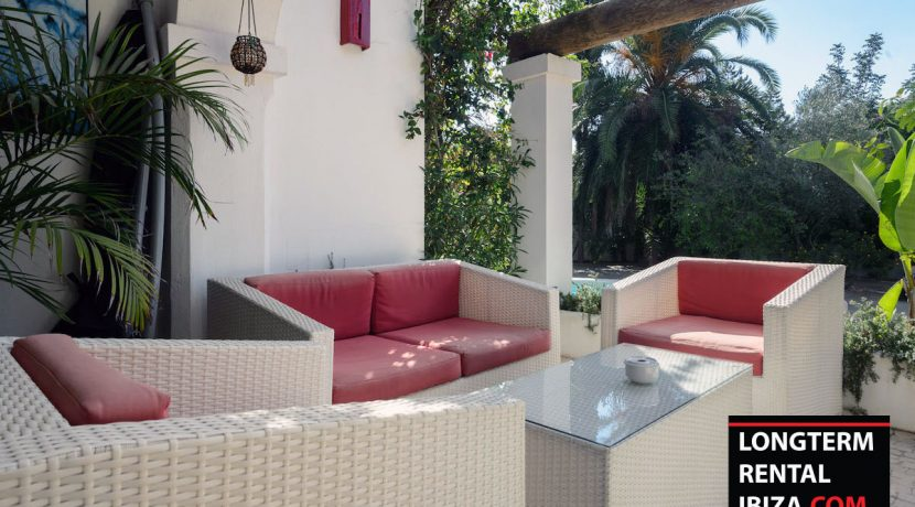 Long term rental Ibiza - Villa Entrada 12