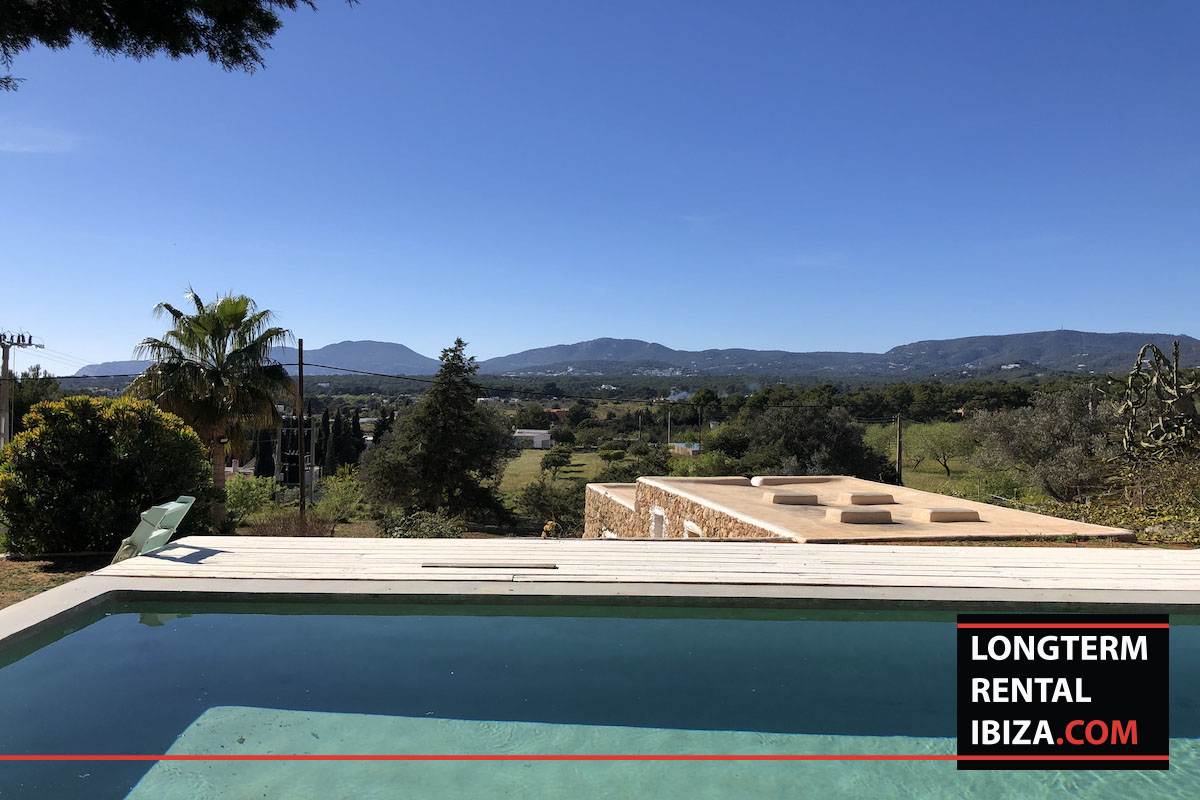 Long term rental Ibiza - Finca Sa Caleta