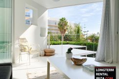 Long term rental Ibiza - Patio Blanco Ocean Beach