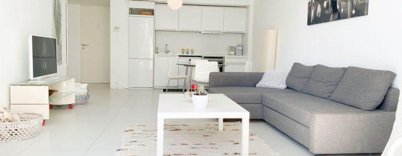 Long term rental Ibiza - Patio Blanco Ocean Beach 1