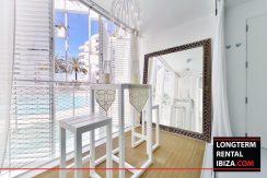 Long term rental Ibiza - Patio Blanco Pacha 1