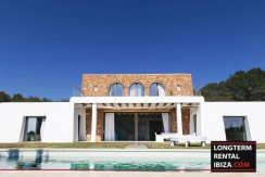 Long term rental Ibiza - Villa Blackstyle