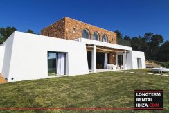 Long term rental Ibiza - Villa Blackstyle 1
