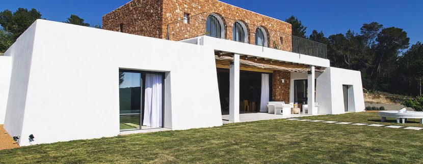 Long term rental Ibiza - Villa Blackstyle 1