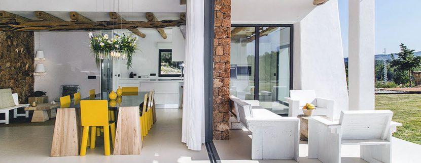 Long term rental Ibiza - Villa Blackstyle 11