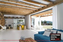 Long term rental Ibiza - Villa Blackstyle 5
