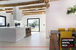 Long term rental Ibiza - Villa Blackstyle 6