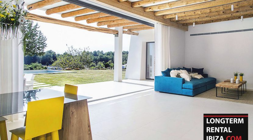 Long term rental Ibiza - Villa Blackstyle 8