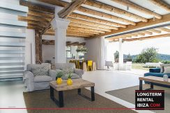 Long term rental Ibiza - Villa Blackstyle 9