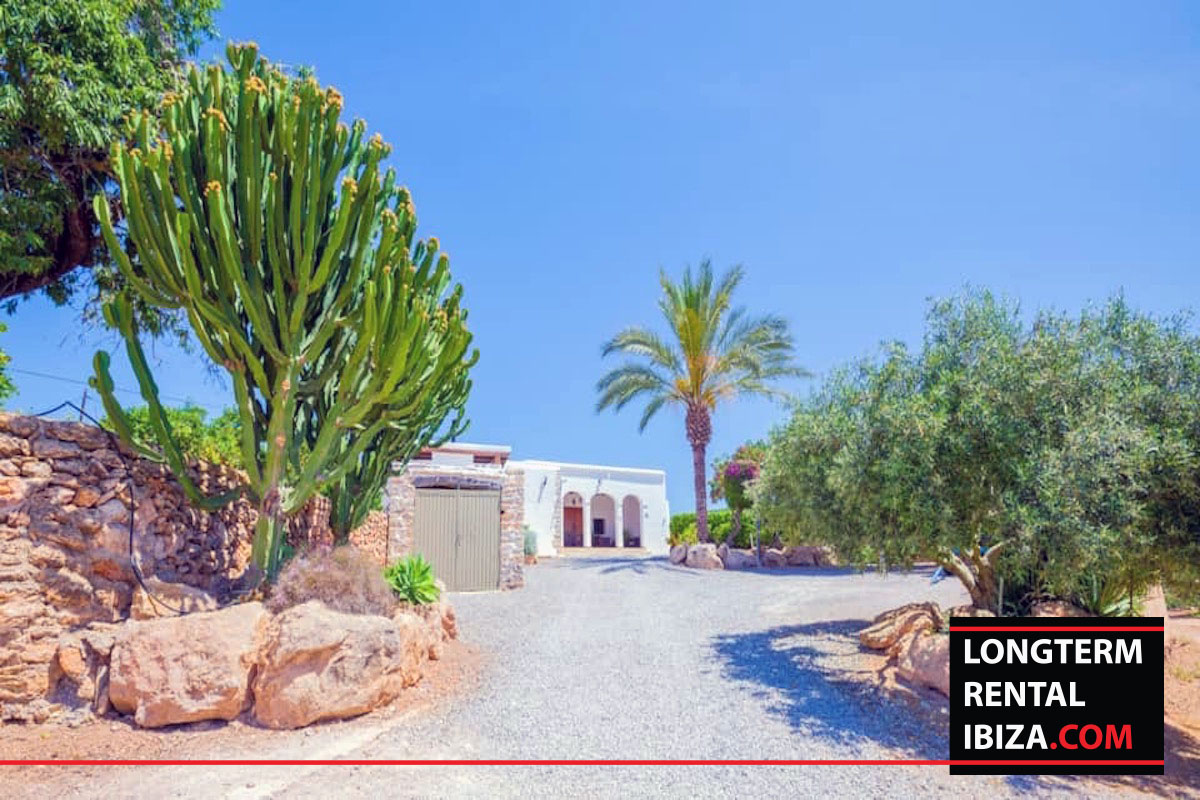 Long term rental Ibiza - Villa Buscal