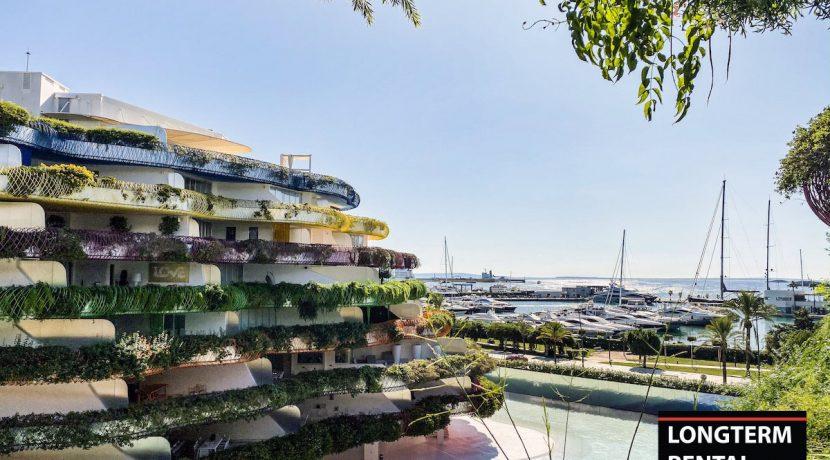 Long term rental ibiza - Apartment Cova Santa
