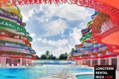 Long term rental ibiza - Apartment Cova Santa 15