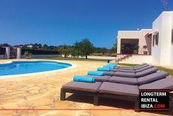 Long term rental Ibiza - Villa Can Salada 1