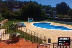 Long term rental Ibiza - Villa Can Salada 2