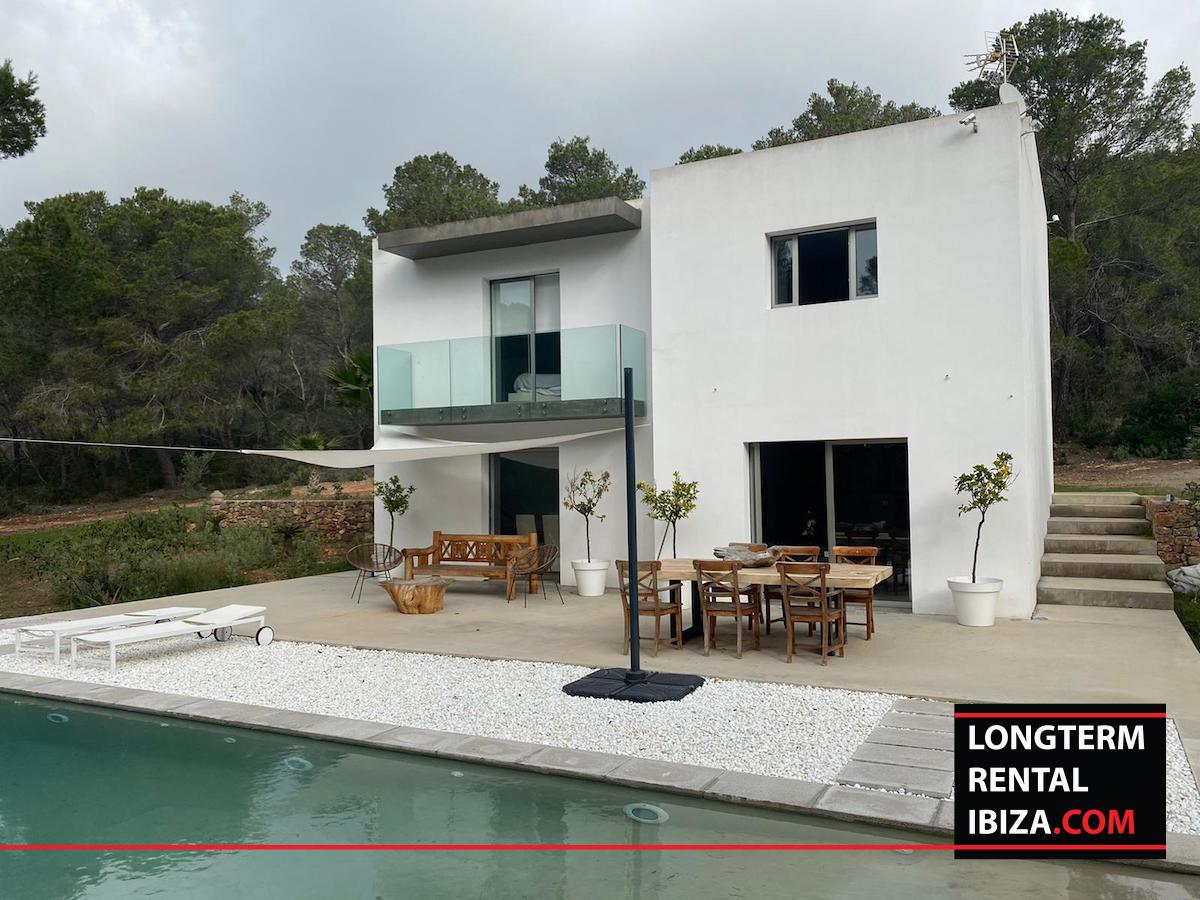 Long term rental ibiza - Villa Abierto, santa gertrudis, annual rental ibiza, ibiza todo el ano