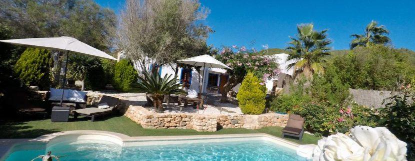 long term rental Ibiza - Villa Precioso 15
