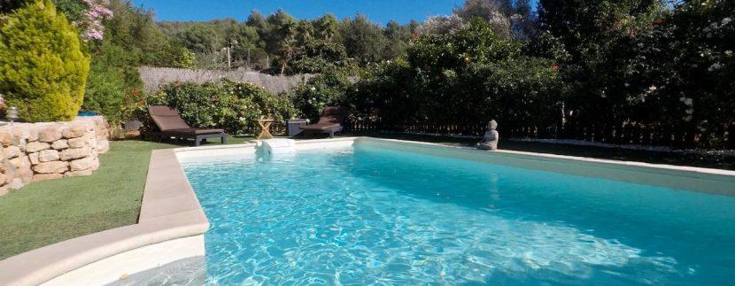long term rental Ibiza - Villa Precioso 16