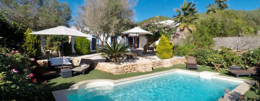 long term rental Ibiza - Villa Precioso 17