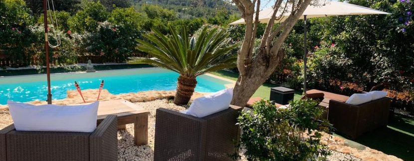 long term rental Ibiza - Villa Precioso 19