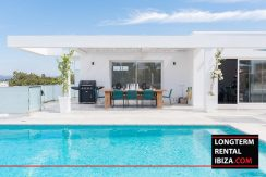 Long term rental Ibiza - VIlla Talamanca Cinco 45
