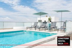 Long term rental Ibiza - VIlla Talamanca Cinco 72