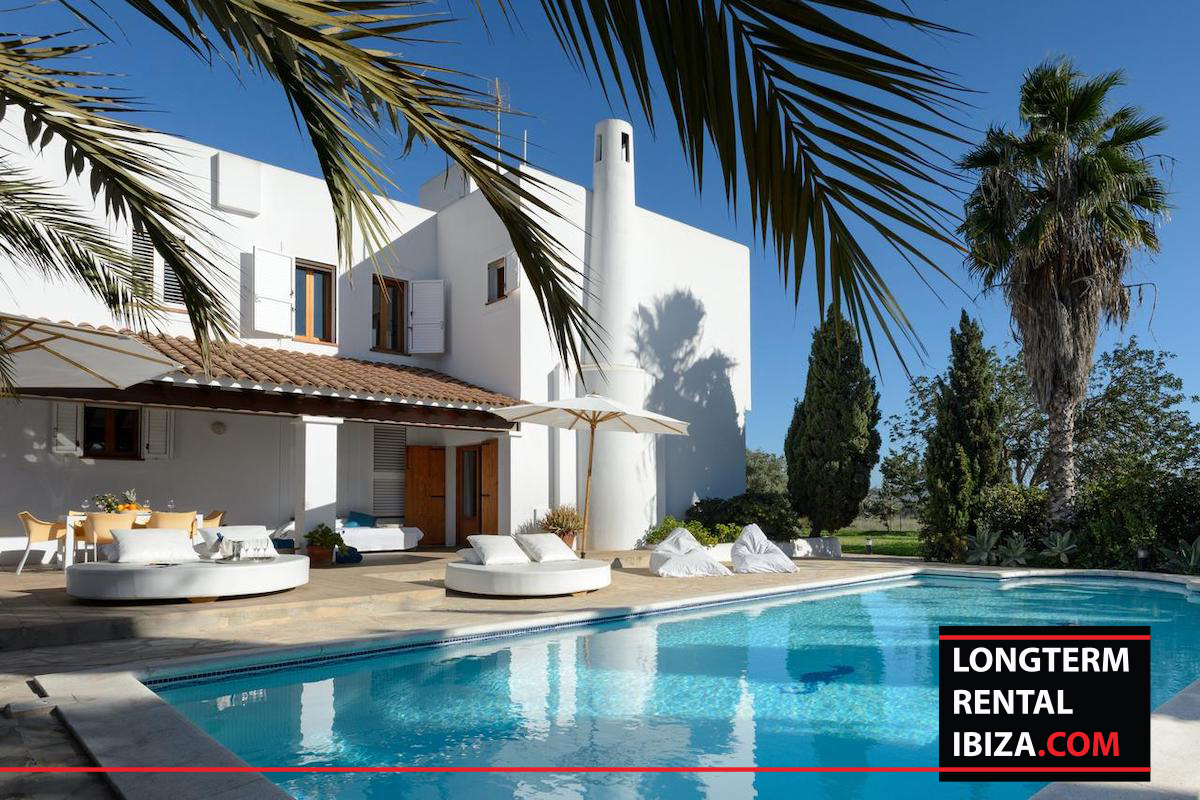 Long term rental Ibiza - Villa Merc