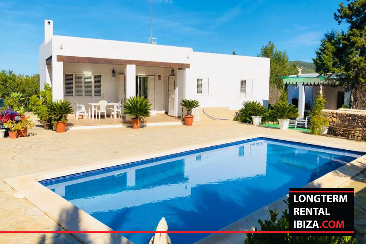 Long term rental Ibiza - villa Bennie, long term rental, villa with touristic license, touristic license