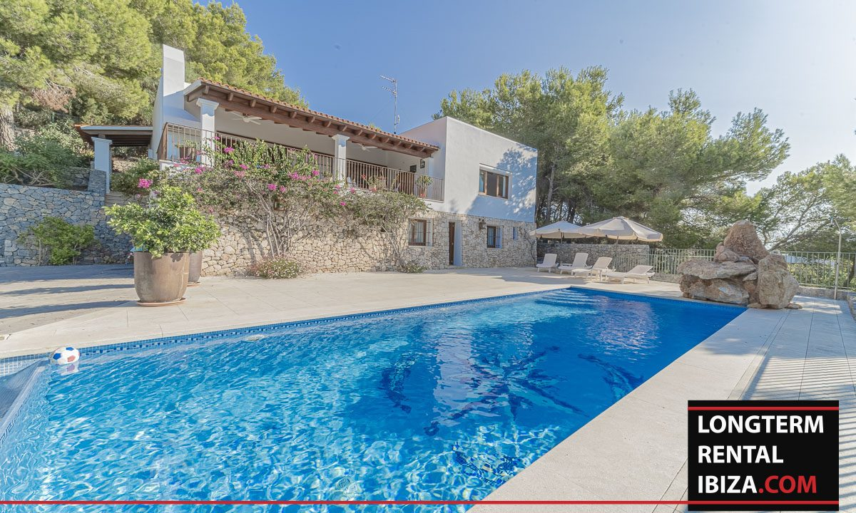 Long term rental Ibiza - Villa Mediterenean16