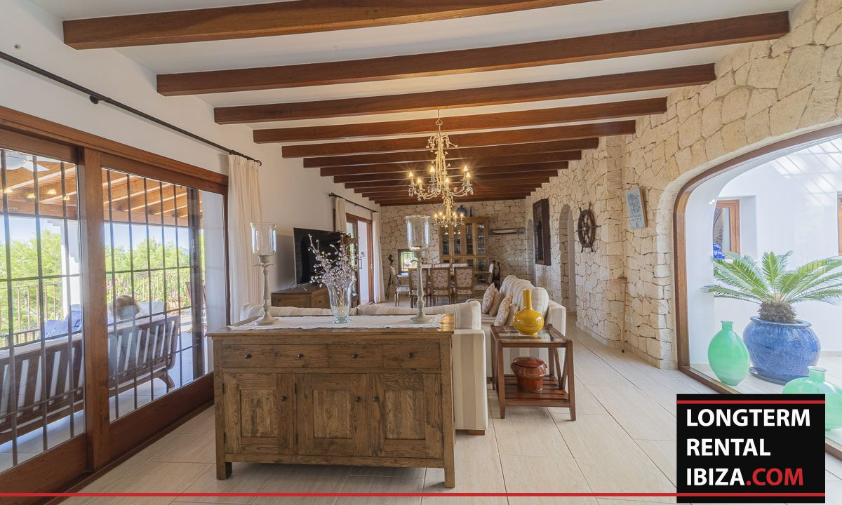 Long term rental Ibiza - Villa Mediterenean2