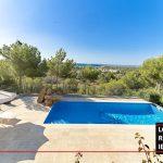 Long term rental Ibiza - Villa Mediterenean