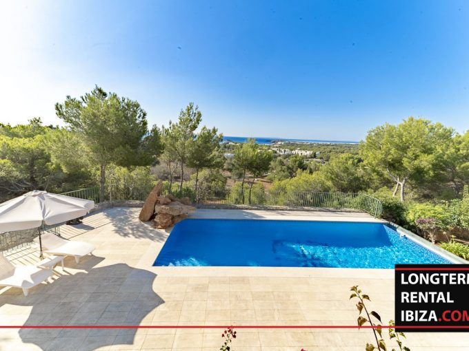 Long term rental Ibiza - Villa Mediterenean