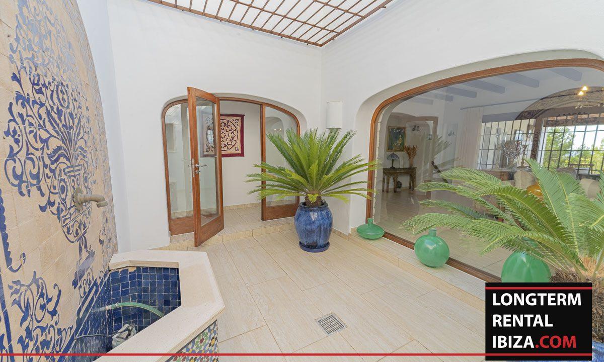 Long term rental Ibiza - Villa Mediterenean6