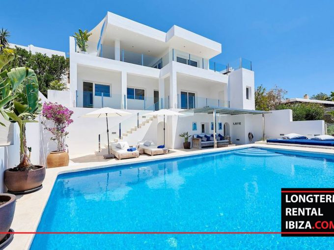 Long term rental Ibiza - Villa Roca Vista