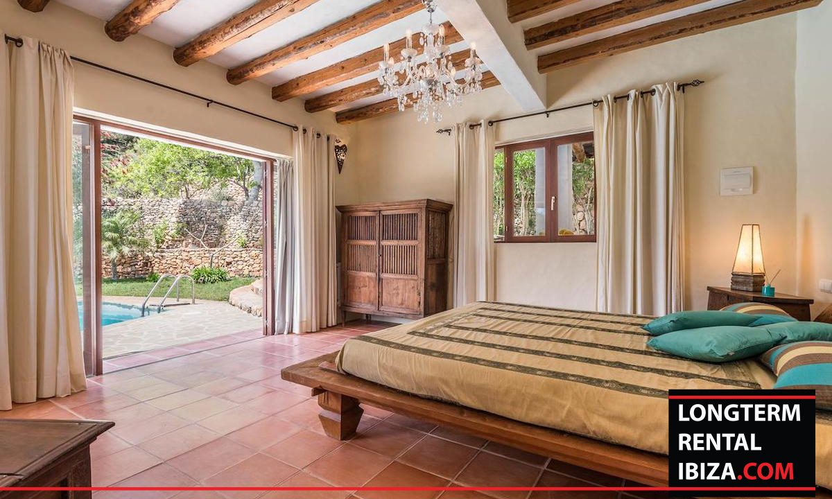 Long term rental Ibiza - Villa Yoga 22