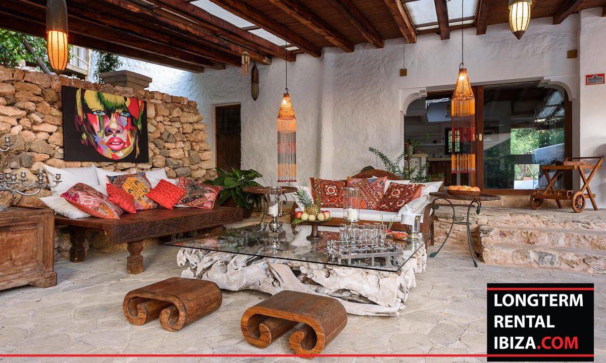 Long term rental Ibiza - Villa Yoga 23