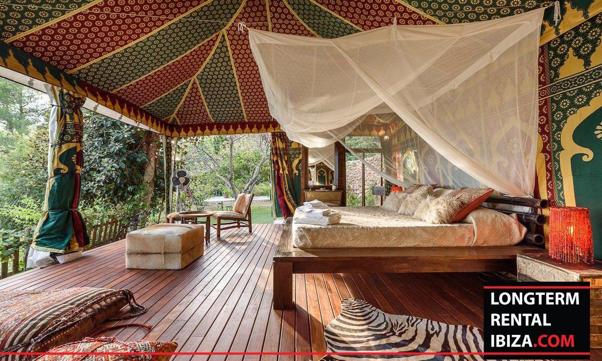 Long term rental Ibiza - Villa Yoga 44
