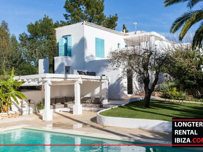 Long term rental Ibiza - FInca Month Blanc