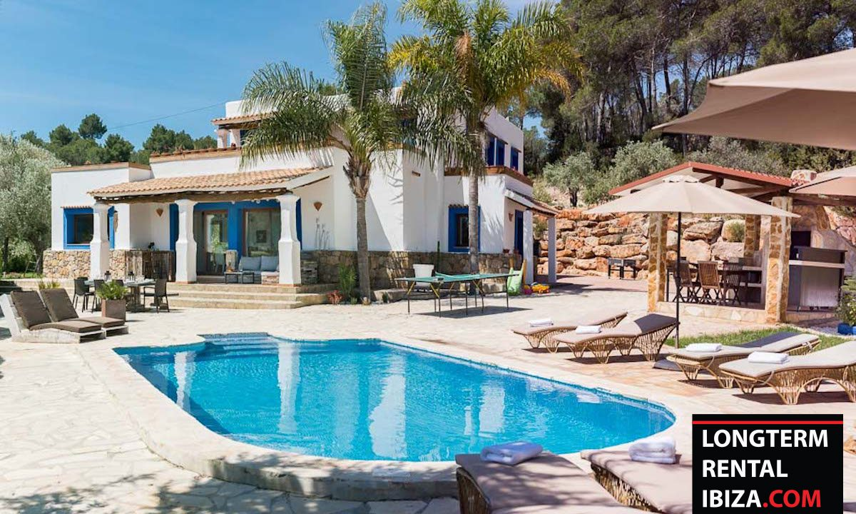 Long term rental Ibiza - VIlla Sunrise