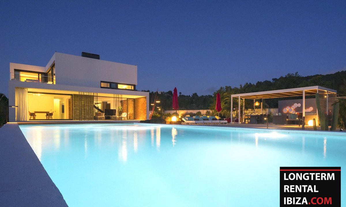 Long term rental Ibiza - Villa Benimussa 6