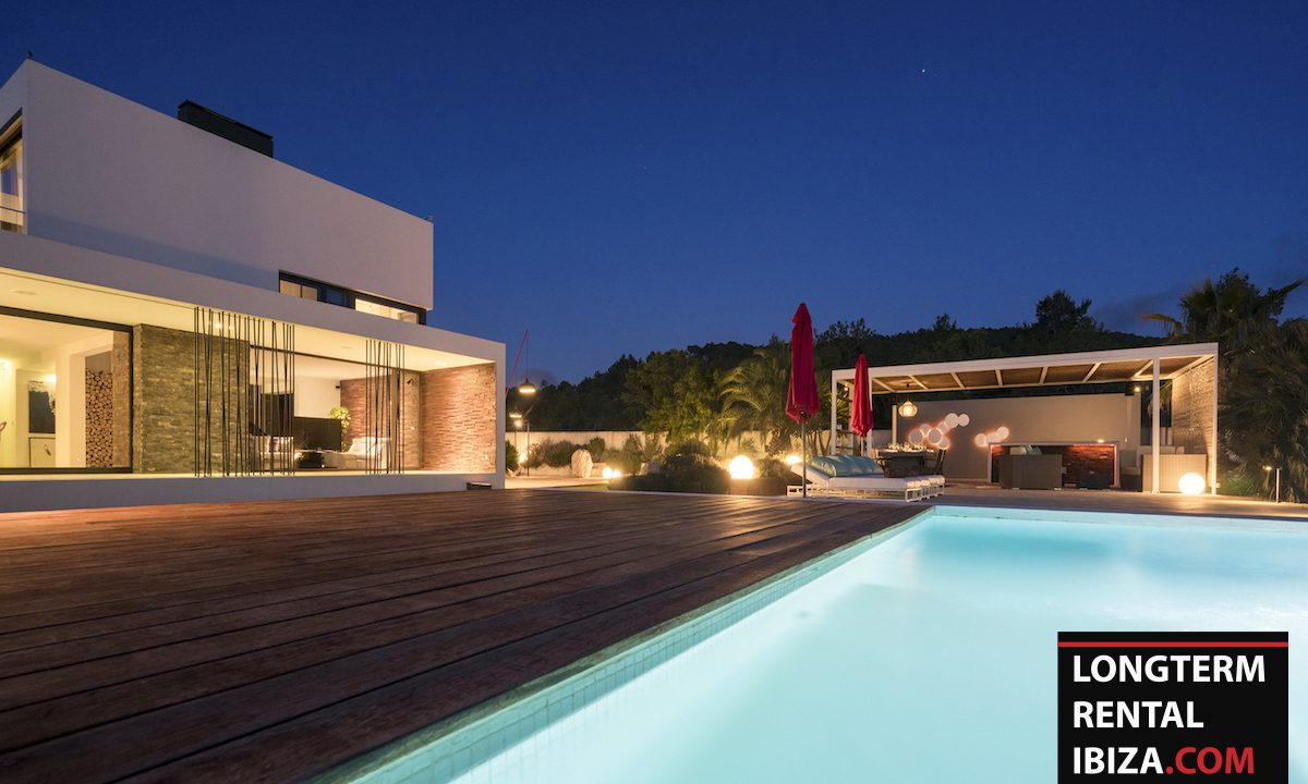 Long term rental Ibiza - Villa Benimussa 8