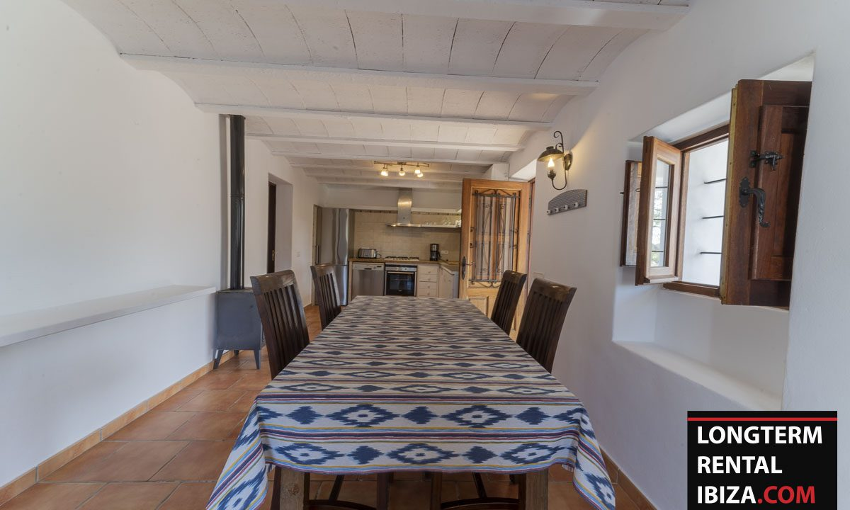 Long term rental Ibiza - Villa Casita 13