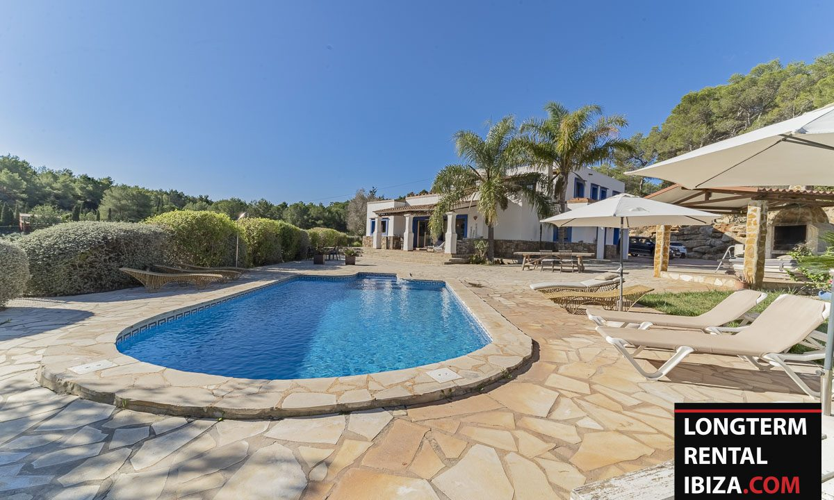 Long term rental Ibiza - Villa Sunrise 26