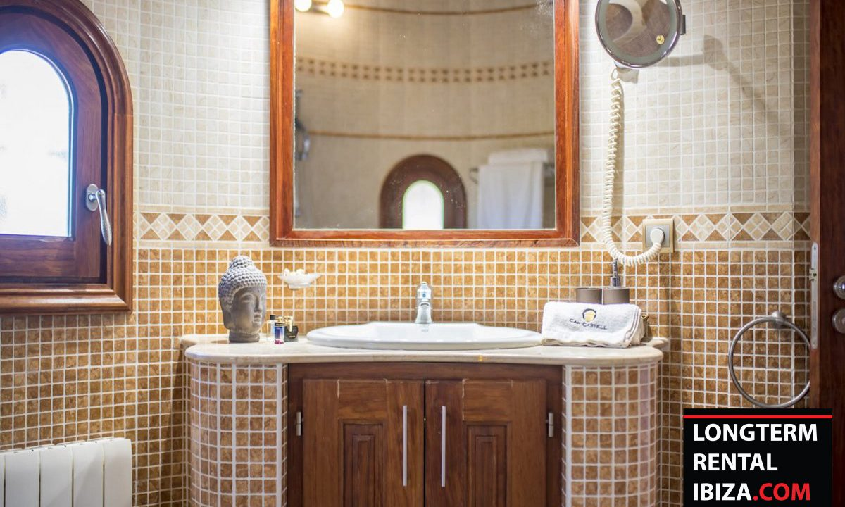 Long term rental Ibiza - Villa Castel 11