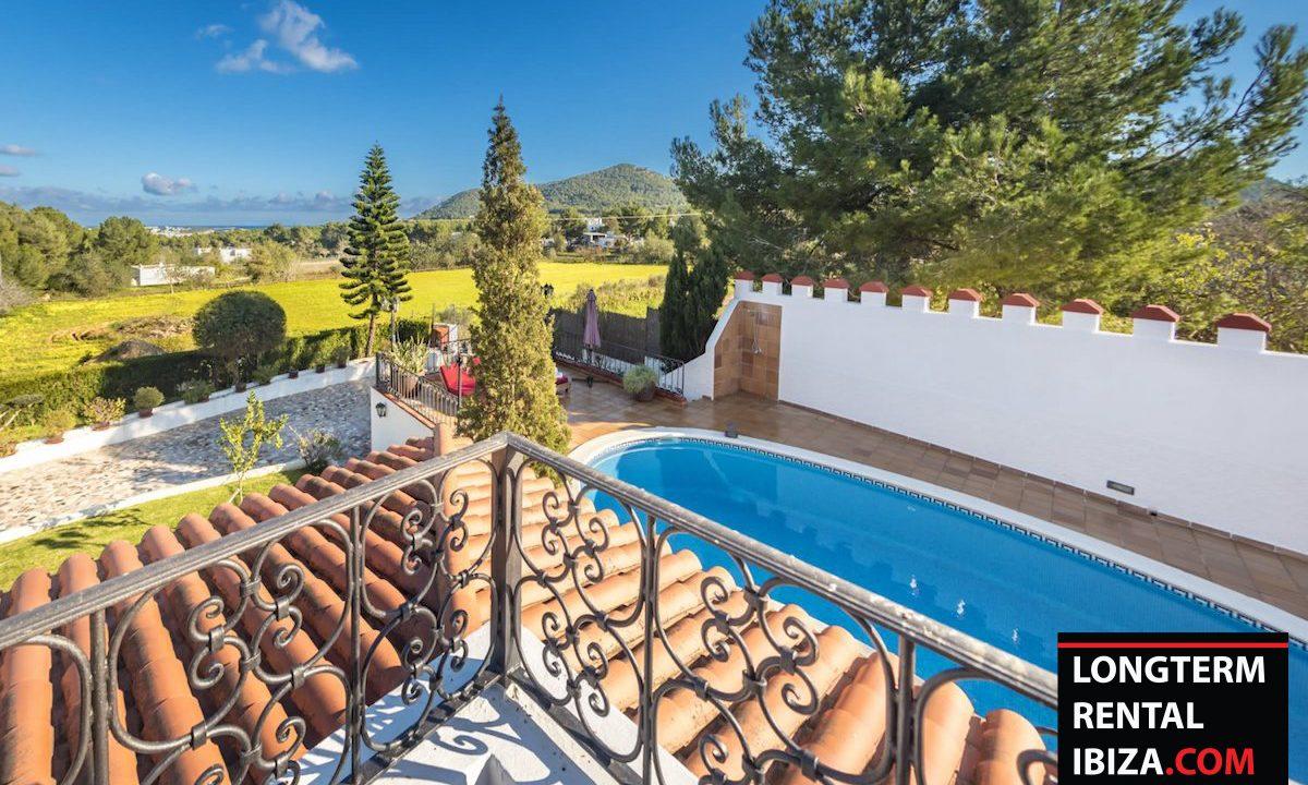 Long term rental Ibiza - Villa Castel 21