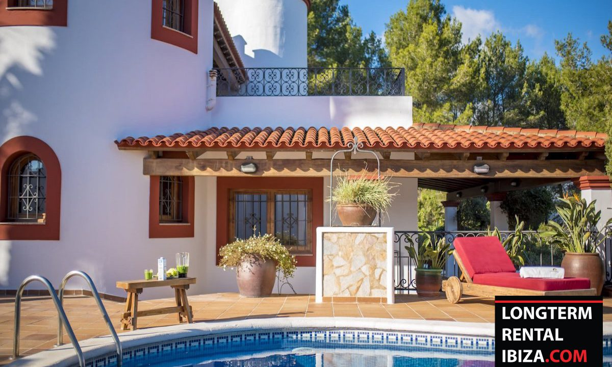 Long term rental Ibiza - Villa Castel 25